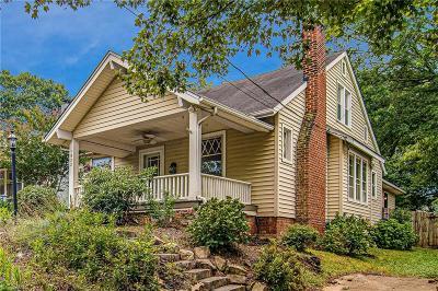 Winston Salem NC Single Family Home For Sale: $284,900