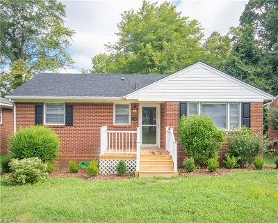 Greensboro Single Family Home For Sale: 2503 Aster Drive