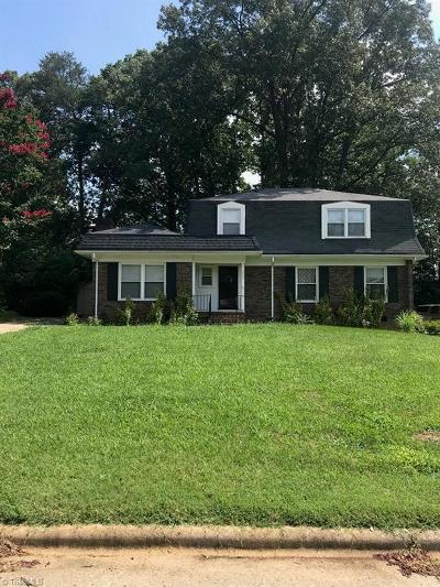 High Point Single Family Home Due Diligence Period: 1731 Stoneybrook Drive