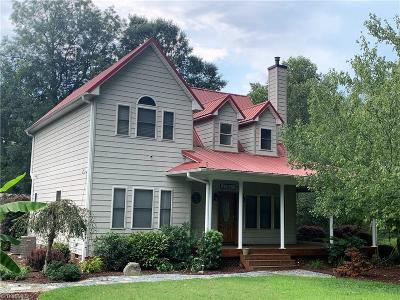 Guilford County Single Family Home For Sale: 4025 Blumenthal Road