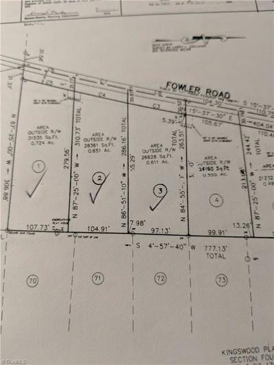 Walnut Cove Residential Lots & Land For Sale: 800 Fowler Road