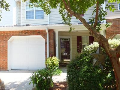 Greensboro Condo/Townhouse For Sale: 1104 Parsons Place