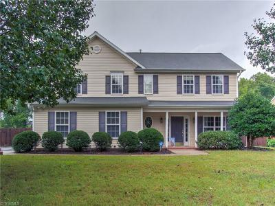 Kernersville NC Single Family Home For Sale: $225,000