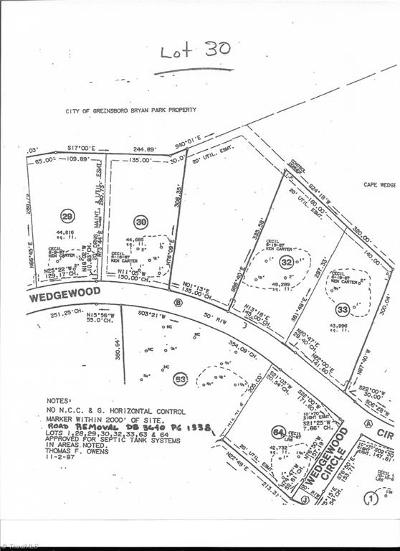 Browns Summit Residential Lots & Land For Sale: 6208 Cape Wedgewood Circle