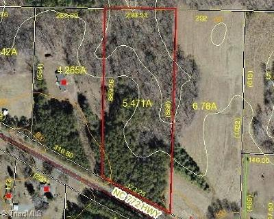 Madison Residential Lots & Land For Sale: 5.47 Ac Nc Highway 772