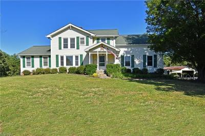 Germanton Single Family Home For Sale: 8911 Red Bank Road