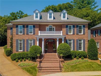 Winston Salem Single Family Home For Sale: 2936 Reynolds Square