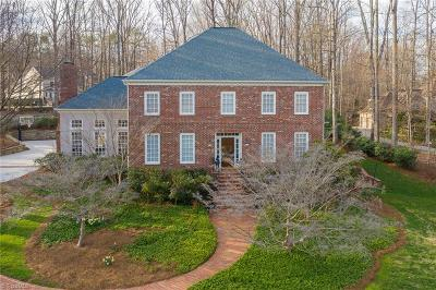 Greensboro Single Family Home For Sale: 3508 Willow Grove Court