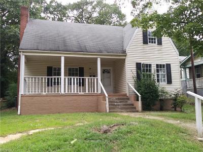 Winston Salem Single Family Home For Sale: 2828 Glenn Avenue