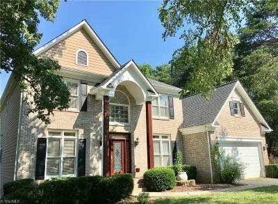 Greensboro Single Family Home For Sale: 6402 Lakebend Way