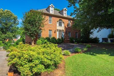 Winston Salem Single Family Home For Sale: 3378 Sally Kirk Road