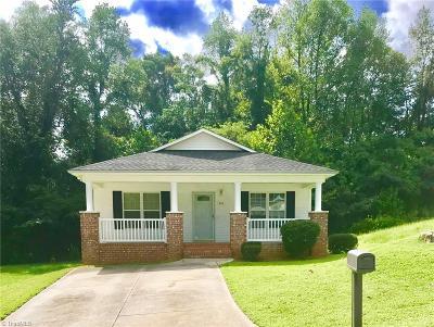 Winston Salem Single Family Home For Sale: 410 Nash Avenue