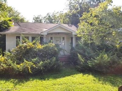 Burlington Single Family Home For Sale: 314 Atwater Street