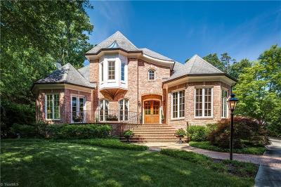 Greensboro Single Family Home For Sale: 207 W Greenway Drive N