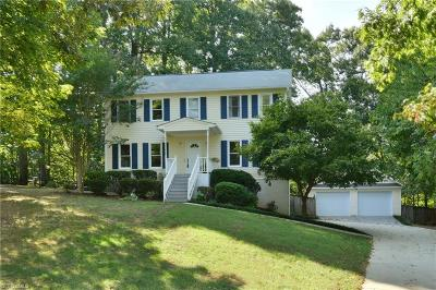 Winston Salem Single Family Home For Sale: 3900 Ebert Village Court