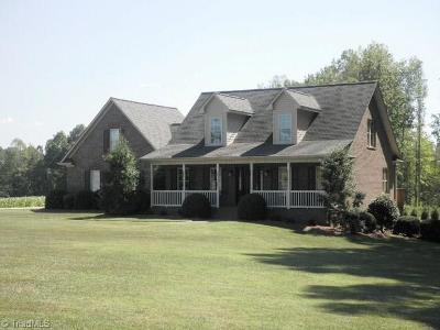 Lexington Single Family Home For Sale: 1831 Yadkin College Road
