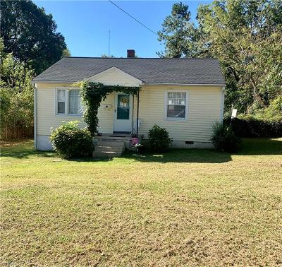 Greensboro Single Family Home For Sale: 317 W Terrell Street