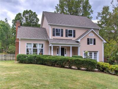 Greensboro Single Family Home For Sale: 6822 River Hills Drive