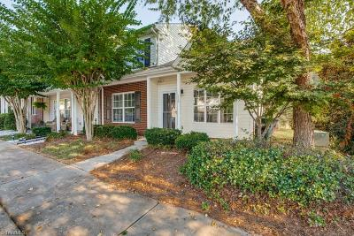 Greensboro Condo/Townhouse For Sale: 110 Tannenbaum Circle