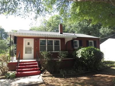 High Point Single Family Home For Sale: 618 State Avenue