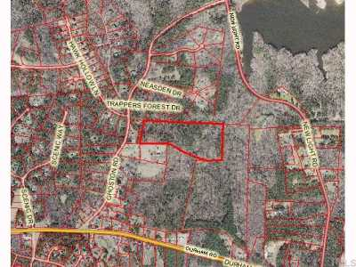Wake County Residential Lots & Land For Sale: Ghoston Road