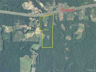 Apex Residential Lots & Land For Sale: 11498 E Us 64 Highway