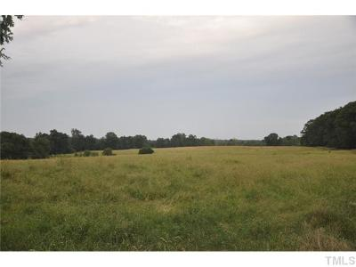 Chatham County Residential Lots & Land Pending: 6745 Bonlee Bennett Road