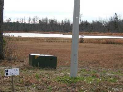 Sampson County Residential Lots & Land For Sale: Hoss Lane