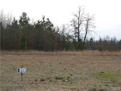 Sampson County Residential Lots & Land For Sale: Colts Lane