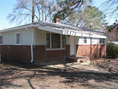 Durham Single Family Home For Sale: 3823 Missell Avenue