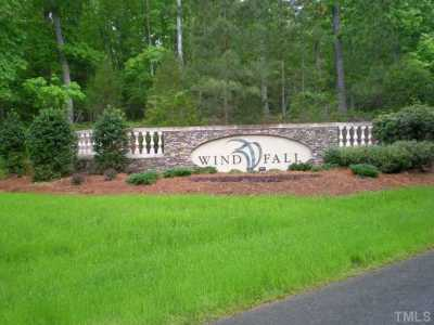 Chatham County Residential Lots & Land For Sale: 718 Windfall Creek Drive