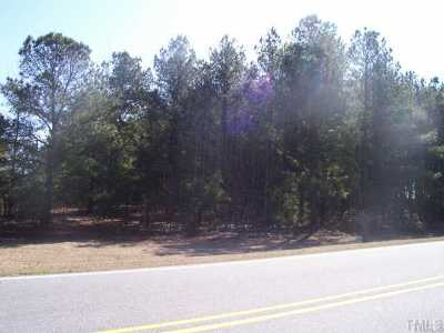 Johnston County Residential Lots & Land For Sale: E Nc 242 Highway