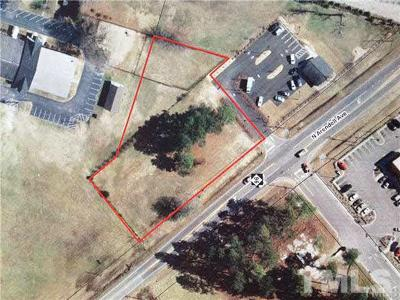 Zebulon Commercial Lots & Land For Sale: 1512 Arendell Avenue