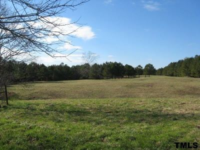 Johnston County Residential Lots & Land Contingent: 1085 Castleberry Road