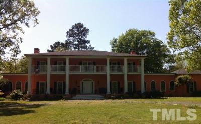 Bear Creek Single Family Home For Sale: 6500 Siler City Glendon Road