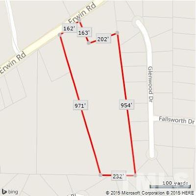 Durham County Residential Lots & Land For Sale: 4615 Erwin Road