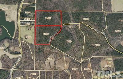 Chatham County Residential Lots & Land For Sale: Landrum Hills Lane