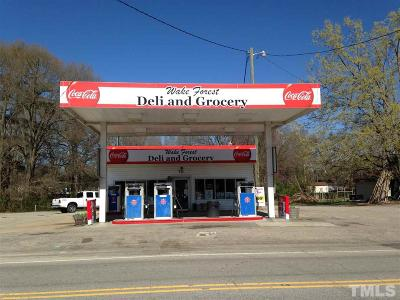 Wake Forest Commercial For Sale: 711 N Main Street