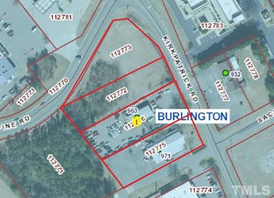 Alamance County Residential Lots & Land For Sale: 963 Kirkpatrick Road