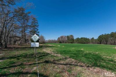 Franklin County Residential Lots & Land Pending: 1656 Mays Crossroad Road
