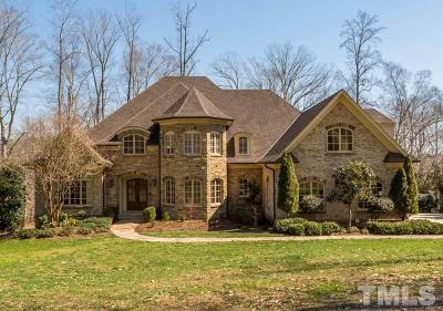 Raleigh Single Family Home For Sale: 1608 Barony Lake Way