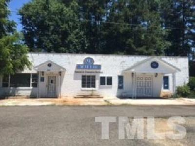 Chatham County Commercial For Sale: 699 East Street