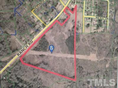 Johnston County Residential Lots & Land For Sale: Ranch Road