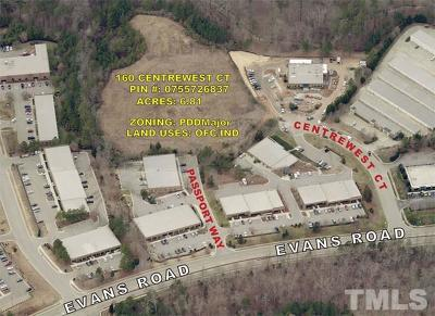 Cary Residential Lots & Land For Sale: 160 Centrewest Court