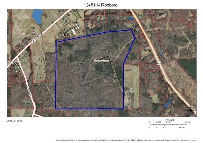 Durham County Residential Lots & Land For Sale: 12451 Roxboro Road North