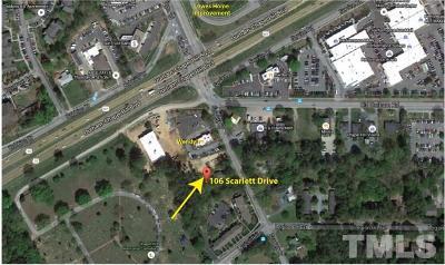 Chapel Hill Single Family Home For Sale: 106 Scarlett Drive