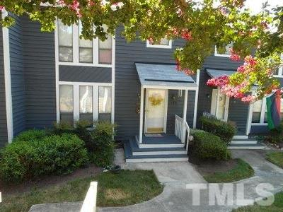 Cary NC Townhouse Sold: $140,000