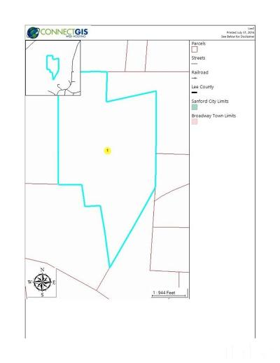 Lee County Residential Lots & Land For Sale: Avents Ferry Road