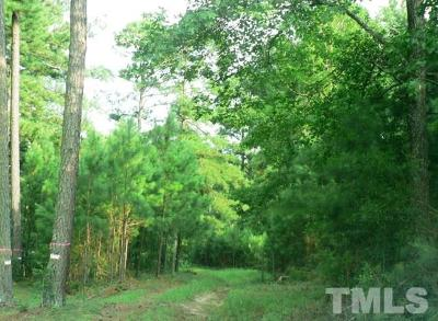 Bunn Residential Lots & Land For Sale: 40.19 N Nc 39 Highway