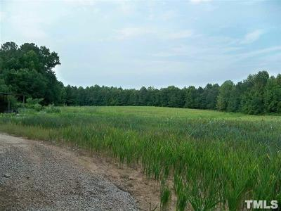 Johnston County Residential Lots & Land Pending: Hwy 231 Nc 231 Highway